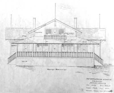 History lost louisvilles historic hecla casino razed by balfour blueprint drawings of the south elevation of the hecla casino show craftsman style architectural features including what were specified as 30 over one malvernweather Gallery